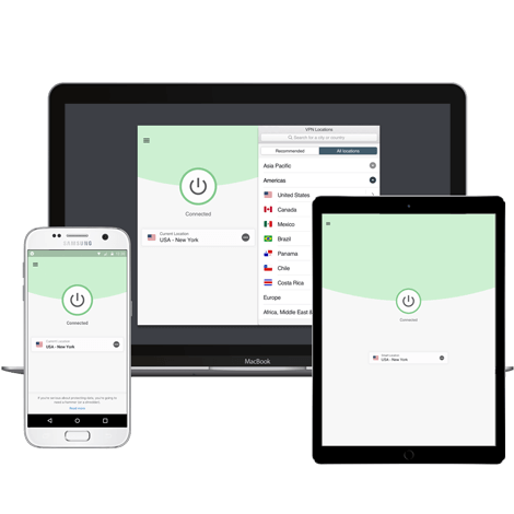 ExpressVPN different devices