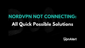 NordVPN not connecting on pc
