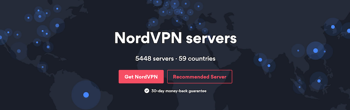 NordVPN servers list and features