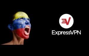 A venezuelan woman and ExpressVPN