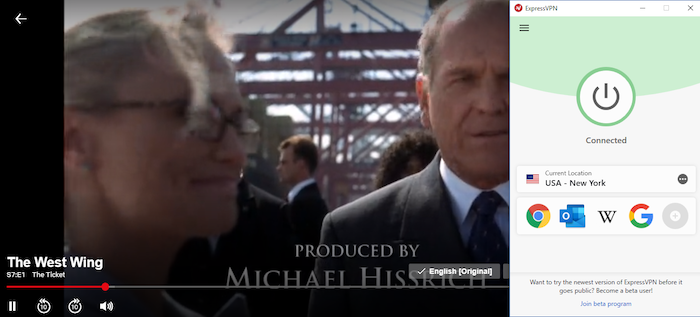 """Streaming """"The West Wing"""""""