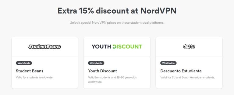 Extra discount at NordVPN