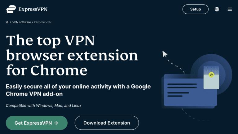 ExpressVPN Extension for Chrome Browser